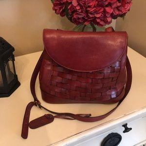 Etienne Aigner Brown Genuine Leather Purse